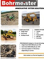 Bohrmeister Pitter Product Brochure